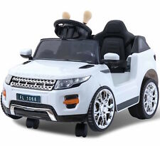 Mini Evoque Style 6V Children's Ride On Electric Jeep with 2.4G Remote - White