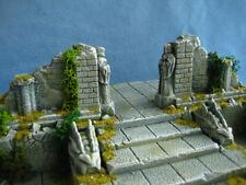 Bone Gate Wall Set Unpainted Ceramic Thomarillion Terrain Dwarven Forge D&D