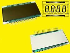 LCD Display 4-DIGIT 7-segmento STN positivo 17,8 mm de 120-rs-20/7,5 1 PZ