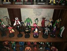 Marvel e DC comics collezione di 89 supereroi statuine in piombo