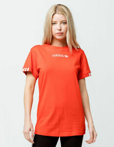 Women's adidas Originals Red Coeeze T-Shirt Top Size 10 BRAND NEW Sold OUT RARE!