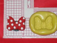 Minnie Bow Flexible Silicone Mold Candy A615 Fondant Chocolate Craft Resin