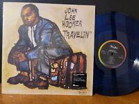 John Lee Hooker - Travelin' Craft VMP Blue Vinyl Me Please Blues Guitar Classic!