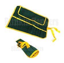 Multi-poche outil Roll up Wrench Spanner Outil Sac De Rangement Fold Coque étui