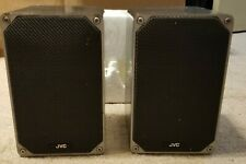 JVC S-M3 2 way Bookshelf Speakers Made in Japan 8 ohm 50 watts peak rms 1980