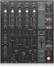 Behringer Mischpult Mixer DJX750 Pro 5 Kanal DJ Elektronik XPQ low schwarz