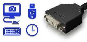 VideoGhost Max DVI - Compact JPG Image Capture Cable for DVI Video