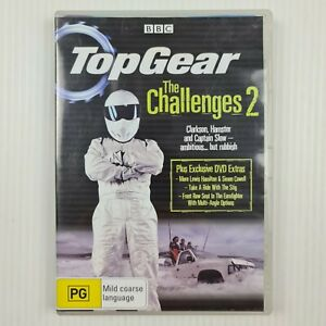 Top Gear - The Challenges 2 DVD - BBC - Region 4 - TRACKED POST