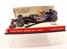 Minichamps Red Bull Racing Showcar 2009 S.Vettel 1/43 neuf mint boxed /en boîte