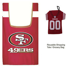 New Jersey Style NFL San Francisco 49ers Reusable Shopping Tote Grocery Bag