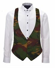 Childs Army DPM Unisex Backless Waistcoat Fits Age 6-12 Years Fancy Dress