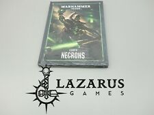 Warhammer 40k Codex Army Book - Necron, Necrons (8th Ed Hardback)