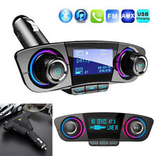 Wireless In-Car Bluetooth Fm Transmitter Radio Adapter Usb Charger Accessories