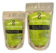 Honey Roasted Macadamia Nuts - 135g, 275g & 1.25kg