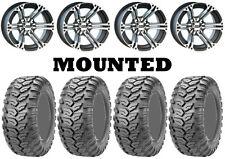 Kit 4 Maxxis Ceros MU07 Tires 26x9-12/26x11-12 on ITP SS212 Machined Wheels IRS