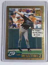 2001 Topps Gold #456 Felix Martinez : Tampa Bay Devil Rays