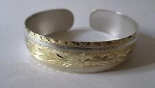 Bracciale in argento placcato oro Silver bracelet gold plated