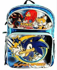 """Sonic the Hedgehog Super Speed Backpack New with tags 16 Inch x 12 Inch x 4.5"""""""