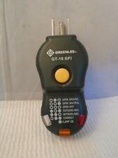 Greenlee Gt 10gfi Gfi Circuit Tester