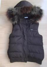 Girls Brown Fleece Lined Gap Bodywarmer Gilet - Size L/G