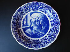 Delft Boch Freres Very Large Plate Platter Blue & White 15 inch Belgium