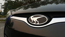 Raptor Front Emblem for Hyundai Veloster & Veloster Turbo All Years Chrome