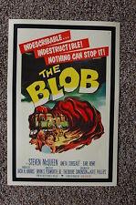 The Blob Lobby Card Movie Poster #1 Steven McQueen Aneta Corseaut Earl Rowe