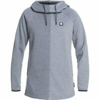 DC shoes Salem Dwr Fleece Frost Gray 2021 Hoodie Tech Ski Snowboard New Women's