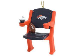 Denver Broncos Christmas Tree Ornament Stadium Chair