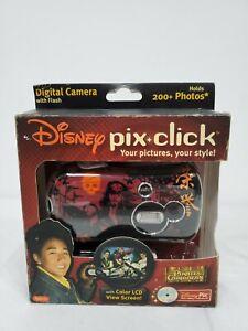 Disney Pix Click Pirates of the Caribbean Digital Camera w/ Flash NIB 2007