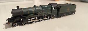 Graham Farish N Gauge Castle Class 1444 (Clun Castle) Steam Locomotive GWR