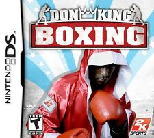 DON KING BOXING KIDS GAME NINTENDO DS DS LITE 3DS 2DS DSI 3DS XL