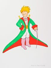 Saint-Exupéry - The Little Prince In His Suit (signed lithograph)