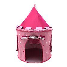 NEW! Children's Kids Pink Castle Pop Up Play Tent Fairy Princess