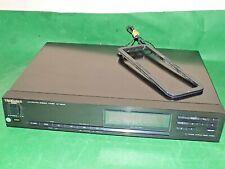 More details for technics stereo tuner hifi vintage japan  st-x930l black digital multi display