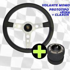 Lenkrad Momo Prototyp Arme Silber+Ananas+Hupe Ideal Für Porsche