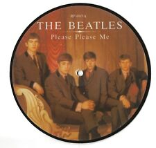 THE BEATLES 20th ANNIVERSARY PICTURE DISC SINGLE 1983 PLEASE PLEASE ME/ASK ME WH