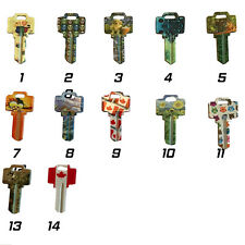 Klassen Crazy Keys - WR3 Blank Uncut House Home Key 14 styles New 5 pack
