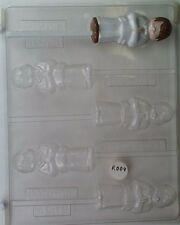 FIRST COMMUNION BOY LOLLIPOP CLEAR PLASTIC CHOCOLATE CANDY MOLD R004