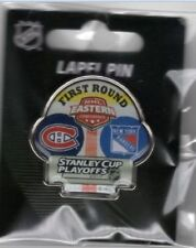 2017 NEW YORK RANGERS MONTREAL CANADIENS STANLEY CUP PLAYOFFS DUELING PIN