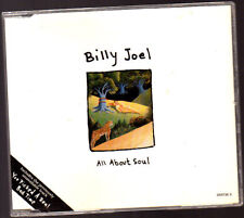 Music CD,  Billy Joel, All about Soul / You picked a real bad Time