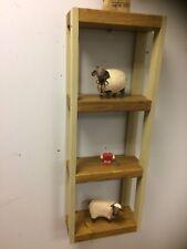 Cottage style Bathroom Kitchen SHELF handmade Unit Wall Or Floor Standing