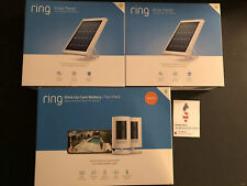 RING Stick Up 2-Camera Set Security Surveillance Solar Wireless Battery HD