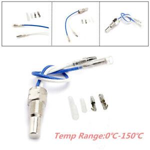 1/8'' NPT Universal Gauge Water Temperature Sensor kit Oil Temp Sender 0℃ - 150℃