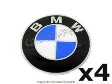 BMW E23 E24 E28 Emblem for BBS Wheels Center Cap stickers 70mm (4) GENUINE