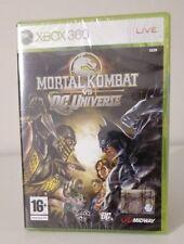 MORTAL KOMBAT VS DC UNIVERSE XBOX 360 NUOVO ITALIANO ORIGINALE RARO UNICO.