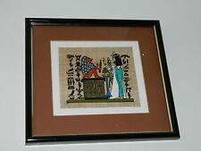 art PAPYRUS D'EGYPTE papier egyptien TABLEAU egypt painting BILDER ägypten PAPER