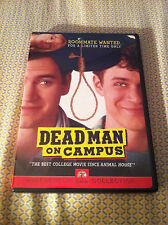 DEAD MAN ON CAMPUS DVD MARK PAUL GOSSELAAR HARD TO FIND AUTHENTIC USA VERSION