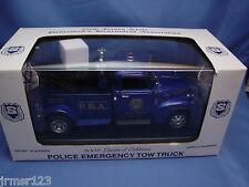 NEW JERSEY STATE PBA 2002 LTD. EDITION 1:24 EMERGENCY TOW TRUCK NIB