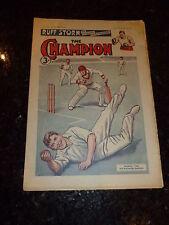 "THE CHAMPION ""Comic"" (1950) - Vol 57 - No 1476 - Date 13/05/1950  UK Paper Comic"